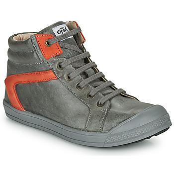 Sapatos Rapaz Sapatilhas de cano-alto GBB IWEN Cinza