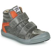 Sapatos Rapaz Sapatilhas de cano-alto GBB KOLAN Cinza