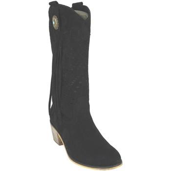 Sapatos Mulher Botas Flyfor J121 Negro