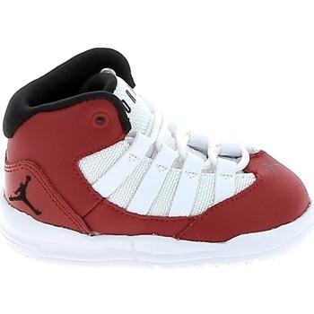 Sapatos Criança Sapatilhas de basquetebol Nike Jordan Max Aura BB Rouge Blanc AQ9215-602 Vermelho