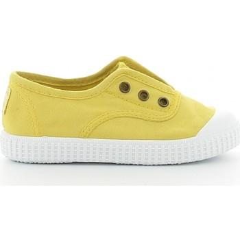 Sapatos Rapaz Sapatilhas de ténis Victoria 106627 jaune