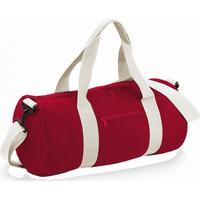 Malas Saco de viagem Bagbase BG140 Vermelho / Branco clássico