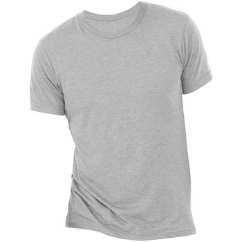 Textil Homem T-Shirt mangas curtas Bella + Canvas CA3413 Athletic Grey Triblend