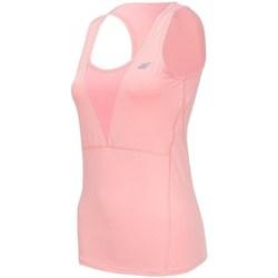 Textil Mulher Tops sem mangas 4F TSDF001 Cor-de-rosa
