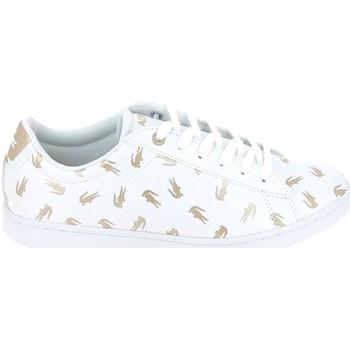 Sapatos Criança Sapatilhas Lacoste Carnaby Evo C Blanc Or Branco