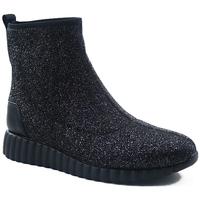 Sapatos Mulher Botas Parodi Shoes 89/1814.GLIT NERO Black