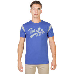 Textil Homem T-Shirt mangas curtas Oxford University - trinity-varsity-mm Azul