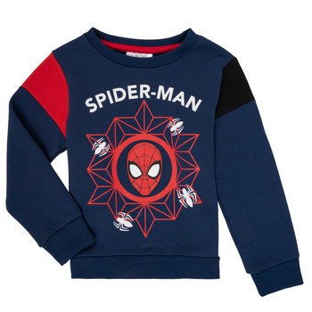 Textil Rapaz Sweats TEAM HEROES SPIDERMAN SWEAT Marinho