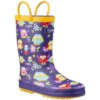 Sapatos Rapaz Botas de borracha Cotswold  Coruja
