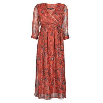 Textil Mulher Vestidos compridos Vero Moda VMGLAMMY Vermelho