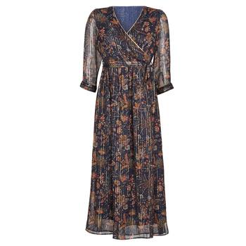 Textil Mulher Vestidos compridos Vero Moda VMGLAMMY Marinho