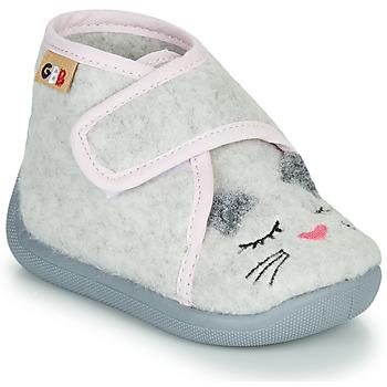 Sapatos Rapariga Chinelos GBB HELORIE Cinza