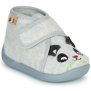 Sapatos Rapaz Chinelos GBB KEELIO Cinza
