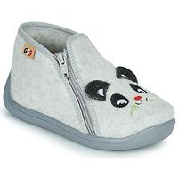 Sapatos Rapaz Chinelos GBB KITRA Cinza
