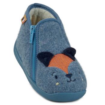 Sapatos Rapaz Chinelos GBB KITRA Azul