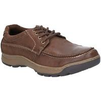 Sapatos Homem Sapatos Hush puppies  Brown