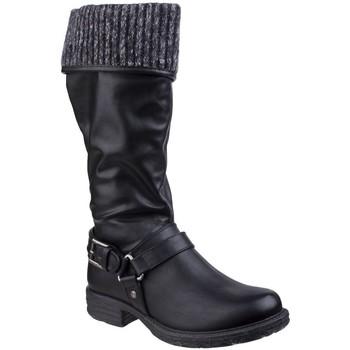 Sapatos Mulher Botas Divaz  Preto