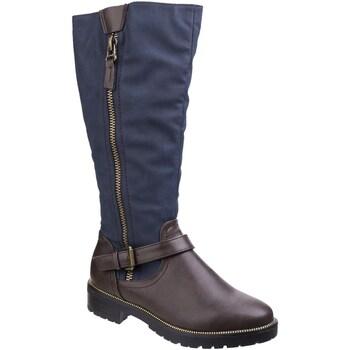 Sapatos Mulher Botas Divaz  Marrom/azul