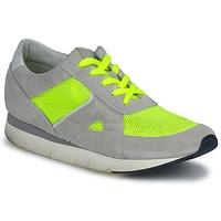 Sapatos Mulher Sapatilhas OXS GEORDIE Cinza / Amarelo