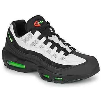 Sapatos Homem Sapatilhas Nike AIR MAX 95 Preto / Branco / Verde