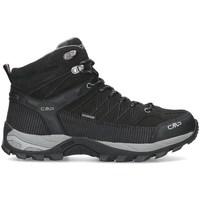 Sapatos Homem Sapatos de caminhada Cmp Rigel Mid Preto