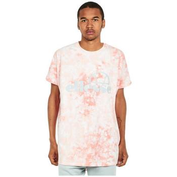 Textil Homem T-Shirt mangas curtas Ellesse T-shirt  Starezzo rose pâle/blanc