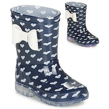 Sapatos Rapariga Botas de borracha Be Only AMOUR FLASH Marinho