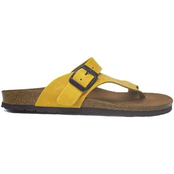 Sapatos Mulher Sandálias Interbios Sandalias  7119 Mostaza Amarelo