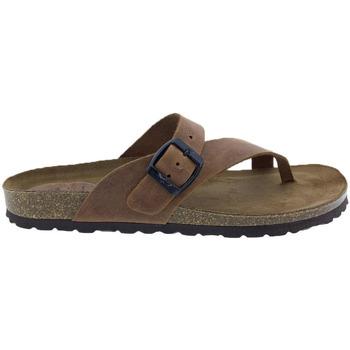 Sapatos Mulher Sandálias Interbios Sandalias  7119 Cuero Castanho