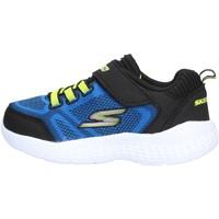 Sapatos Rapaz Sapatilhas Skechers - Ultravolt blu/giallo 97546N BLBK BLU