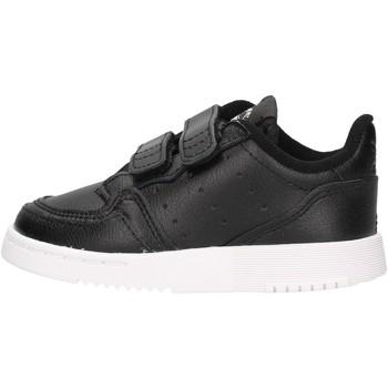Sapatos Rapaz Sapatilhas adidas Originals - Supercourt nero EG0412 NERO