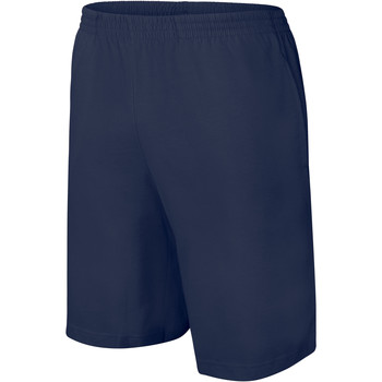 Textil Criança Shorts / Bermudas Proact Short enfant Jersey  Sport bleu marine