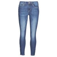Textil Mulher Calças de ganga slim Only ONLKENDELL Azul