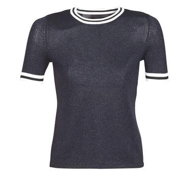 Textil Mulher camisolas Only ONLKAMILLA Marinho