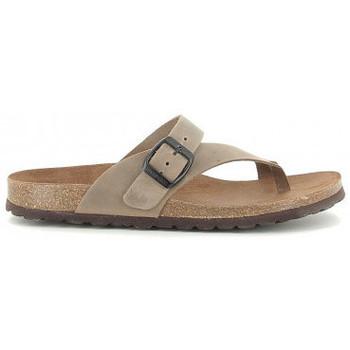 Sapatos Mulher Sandálias Interbios 7119 taupe Beige
