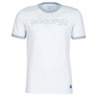 Textil Homem T-Shirt mangas curtas Jack & Jones JORLEGEND Branco