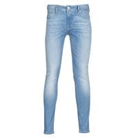 Textil Homem Calças de ganga slim Jack & Jones JJILIAM Azul / Claro