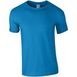 Textil Homem T-Shirt mangas curtas Gildan GD01 Safira