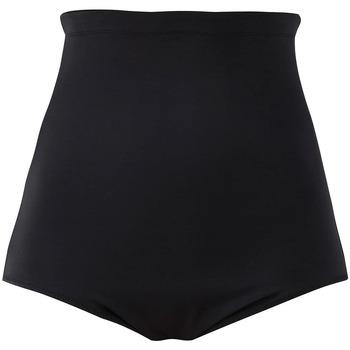 Roupa de interior Mulher Cuecas de cintura subida Elomi ES7604 BLK Preto