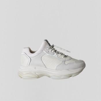 Sapatos Mulher Sapatilhas Bronx Chaussures femme  Baisley Suede blanc cassé