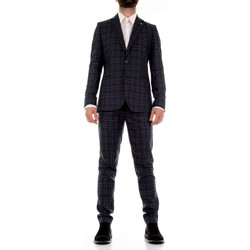 Textil Homem Fatos Mulish CBR-AB7200Q Azul