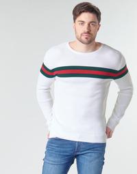Textil Homem camisolas Casual Attitude MIRANDA Branco