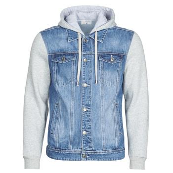 Textil Homem casacos de ganga Casual Attitude LAURYNE Azul