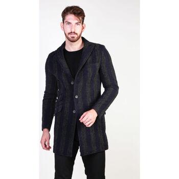 Textil Homem Casacos Made In Italia - amerigo Azul