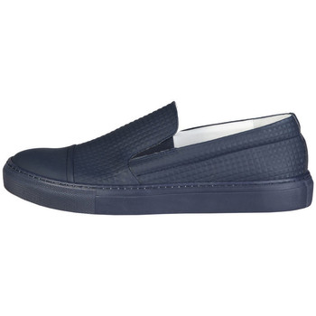 Sapatos Homem Slip on Made In Italia - lamberto Azul