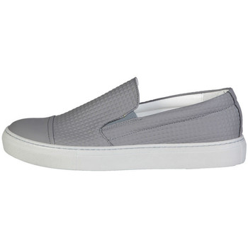Sapatos Homem Slip on Made In Italia - lamberto Cinza