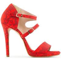 Sapatos Mulher Sandálias Made In Italia - iride Vermelho