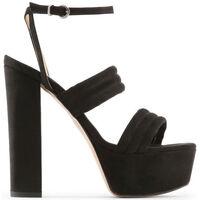 Sapatos Mulher Sandálias Made In Italia - fedora Preto