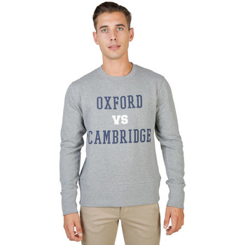 Textil Homem Sweats Oxford University - oxford-fleece-crewneck Cinza