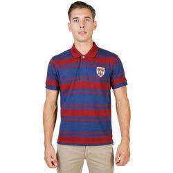 Textil Homem Polos mangas curta Oxford University - queens-rugby-mm Vermelho
